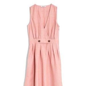 Madewell Button Waist Midi Dress